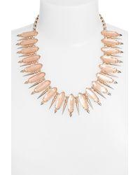 Kendra Scott - Metallic 'gwendolyn' Collar Necklace - Lyst