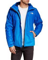 The North Face | Blue Fuseform Dot Matrix Jacket for Men | Lyst