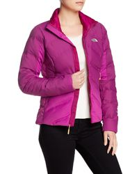 The North Face | Pink Fuseform Dot Matrix Down Jacket | Lyst