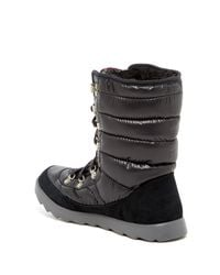 The North Face - Black Thermoball Lace Boot - Lyst
