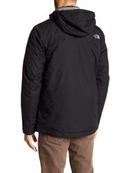 The North Face - Black Initiator Thermoball Triclimate Jacket for Men - Lyst