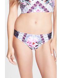 Nanette Lepore - Multicolor Bollywood Charmer Bikini Bottom - Lyst
