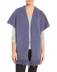 Caslon | Blue Knit Kimono | Lyst