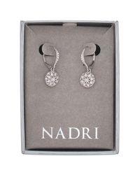 Nadri | Multicolor Vintage Crystal Bead Drop Earrings | Lyst