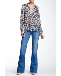 Hudson Jeans | Blue Signature Bootcut Mid Rise Jean | Lyst