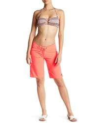 Volcom | Pink Simply Solid Swim Short | Lyst