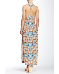 Free People - Multicolor Serves You Right Print Maxi Dress - Lyst