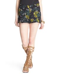 Free People | Multicolor High Waist Print Short | Lyst