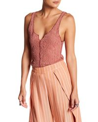Free People - Multicolor Piece Dye Lace Camisole - Lyst