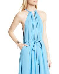 Free People - Blue Spring Love Drape Dress - Lyst