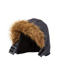 Weatherproof - Black Parka With Faux Fur Trimmed Hood (little Boys) for Men - Lyst