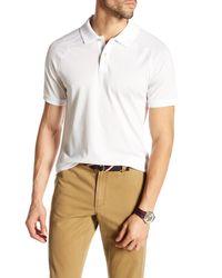 Original Penguin | White Short Sleeve Raglan Slim Fit Polo for Men | Lyst