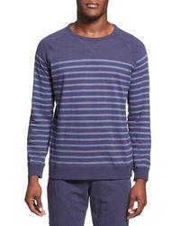 Daniel Buchler | Blue Long Sleeve Slub Cotton T-shirt for Men | Lyst