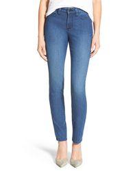 NYDJ   Blue Alina Stretch Skinny Jeans (yucca Valley) (petite)   Lyst