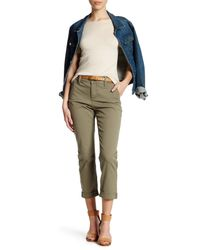 NYDJ | Green Riley Relaxed Chino Pant (petite) | Lyst