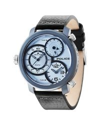 Police - Black Men's Mamba 2-hand & 3-hand Watch for Men - Lyst