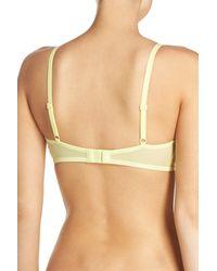 Calvin Klein | Yellow Marquisette Bralette | Lyst