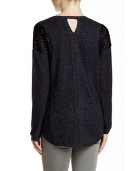 Quinn - Black Laura Cashmere Sweater - Lyst