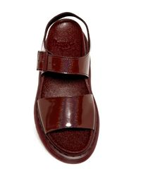 Dr. Martens - Brown Romi Platform Wedge Sandal (unisex) - Lyst