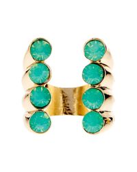 Beyond Rings - Multicolor Quatro Stone Ring - Lyst