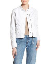 Marrakech - White Paneled Jacket - Lyst