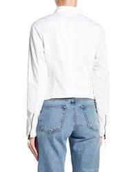 Marrakech | White Paneled Jacket | Lyst