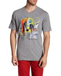 Robert Graham | Gray Hoodoos Short Sleeve Shirt for Men | Lyst