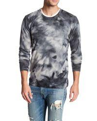 Autumn Cashmere | Multicolor Printed Crew Neck Cashmere Shirt for Men | Lyst