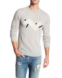 Autumn Cashmere | Multicolor Geometric Intarsia Cashmere Sweater for Men | Lyst