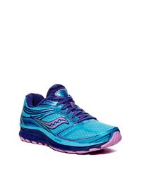 Saucony | Blue Guide 9 Running Shoe | Lyst