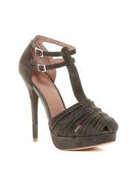 Joie | Black Rexanne Platform Sandal | Lyst