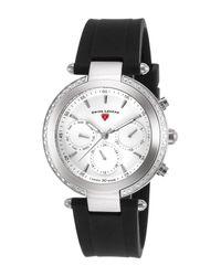 Swiss Legend - Black Women's Madison Diamond Casual Watch - Lyst