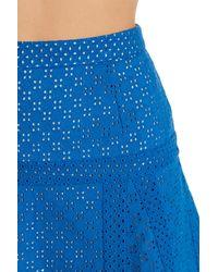 Sugarlips | Blue Paulette Lace Skirt | Lyst