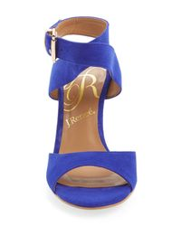 J. Reneé - Blue 'suzanna Too' Ankle Strap Sandal - Lyst