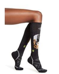 Smartwool | Black Charley Harper Ski Wool Blend Socks | Lyst