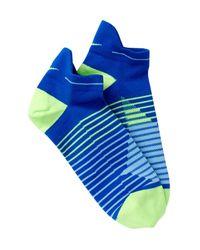 Nike | Blue No Show Dri-fit Running Socks (men) for Men | Lyst