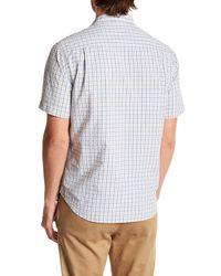 Tommy Bahama - White Reel, Deal Check Original Fit Short Sleeve Shirt for Men - Lyst