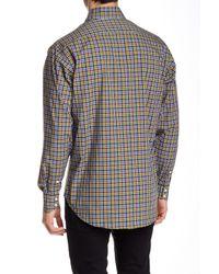Thomas Dean - Multicolor Regular Fit Long Sleeve Woven Shirt for Men - Lyst