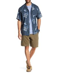Tommy Bahama | Multicolor Coastal Twill Flat Front Short for Men | Lyst