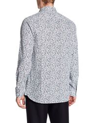 Ted Baker - White Thornie Trim Fit Shirt for Men - Lyst