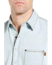 Timberland | Blue Mumford River Soft Denim Shirt for Men | Lyst