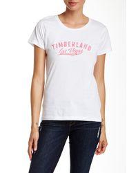 Timberland - White Las Vegas City Tee - Lyst