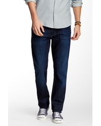 Joe's Jeans | Blue Brixton Slim Fit Straight Leg for Men | Lyst