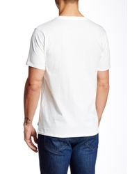 Threads For Thought - White Short Sleeve Crew Tee for Men - Lyst