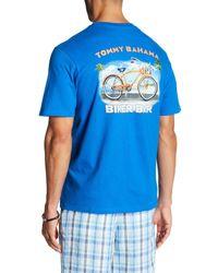 Tommy Bahama   Blue Biker Bar T-shirt for Men   Lyst