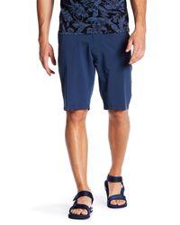 Trunks Surf & Swim - Blue Multi-functional Solid Swim Trunk for Men - Lyst