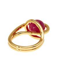 Trina Turk - Metallic Caged Ball Ring - Size 7 - Lyst