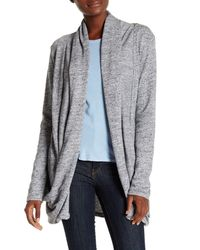 UGG | Gray Olive Slub Knit Cardigan | Lyst