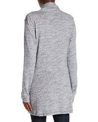 UGG - Gray Olive Slub Knit Cardigan - Lyst