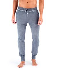 Unsimply Stitched   Gray Dirty Washed French Terry Jogger for Men   Lyst